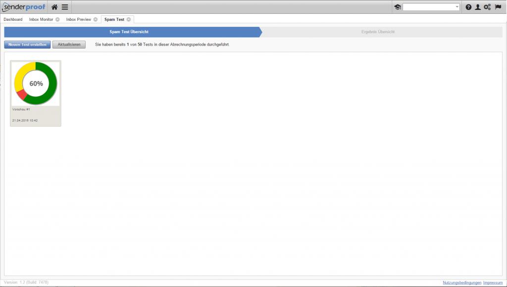 Testen Sie mit EQS SPAM Filter-Test über 20 verschiedene Spam Filter für Ihre Emailkampagnen, um sicher zu stellen, das Ihre Emails nicht im Spamordner landen